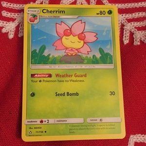 pokemon card (cherrim) for sale